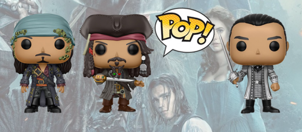 Pirates of the Caribbean: Dead Men Tell No Tales Funko Pop Pre order