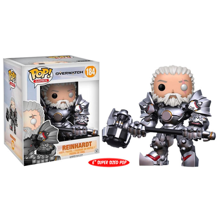 Reinhardt Unmasked Exclusive Funko Pop