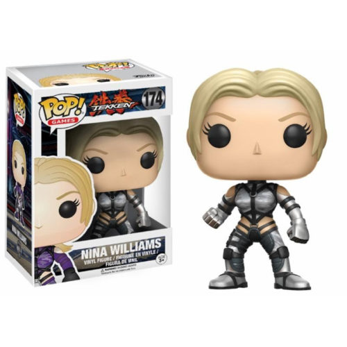 Nina Willimans Silver Suit Funko Pop