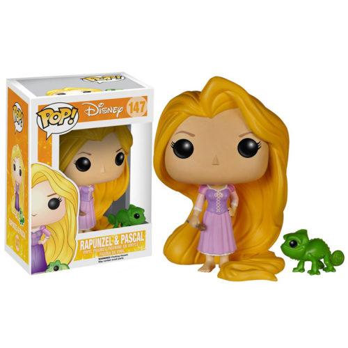 Rapunzel and Pascal Funko Pop
