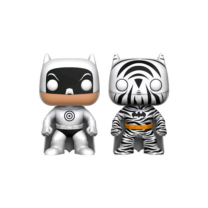 Zebra & Bullseye Batman Funko Pop
