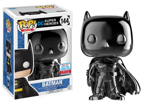 Pop! Heroes: Black Chrome Batman