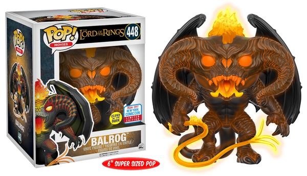 "Pop!: Lord of the Rings – 6"" Glow-in-the-Dark Balrog"
