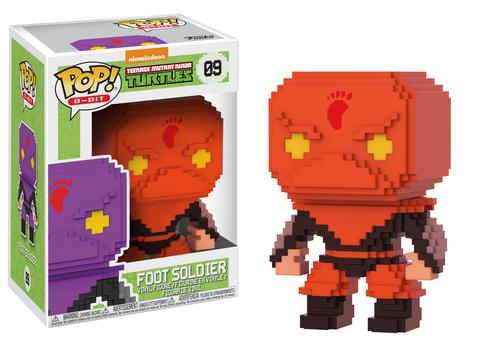 Pop! 8-Bit: TMNT – Red Foot Soldier (500pc LE)
