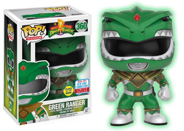 Pop! TV: Power Rangers – Glow-in-the-Dark Green Ranger
