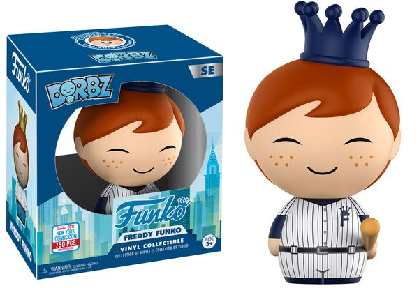 Dorbz: Baseball Freddy Funko (750pc LE)