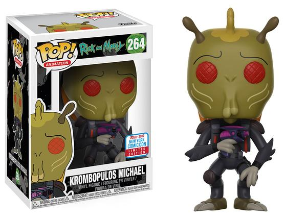 Pop! Animation: Rick & Morty – Krombopolous Michael
