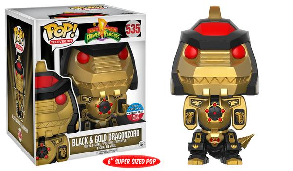 "Pop! TV: Power Rangers – 6"" Black Dragonzord"