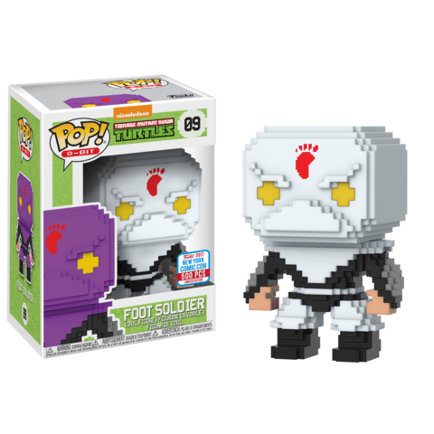 Pop! 8-Bit: TMNT – White Foot Soldier (500pc LE)