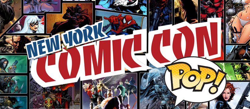 New York Comic Con 2017 Funko Pop, Dorbz, Vinyl en Action Figures overzicht!