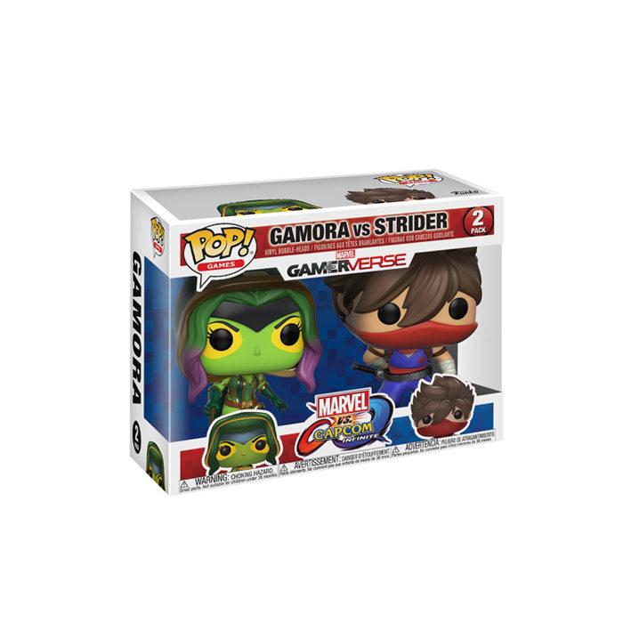 Gamora vs Strider Funko Pop 2pack