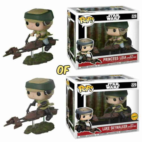 Princess Leia with Speed Bike Funko Pop