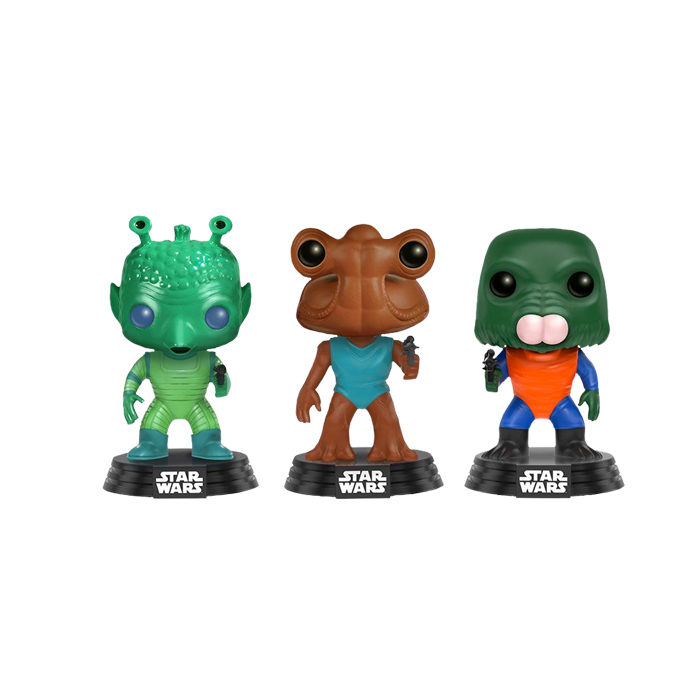 Star Wars 3pack Greedo, Hammerhead, Walrus Man