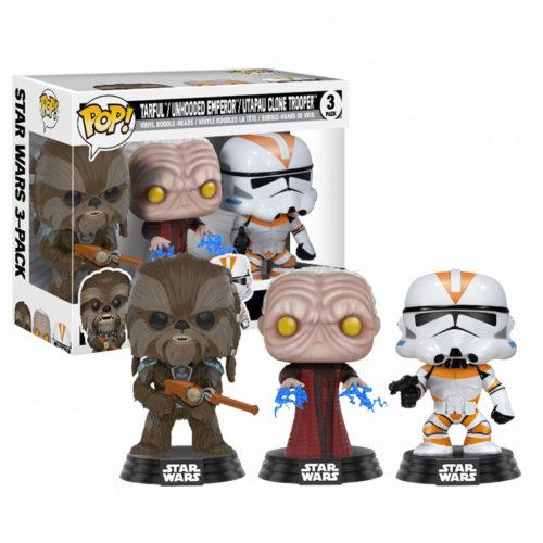 Star Wars 3pack Tarfful, Emperor, Clone Trooper