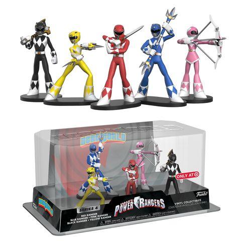 HeroWorld Power Rangers 5-pack