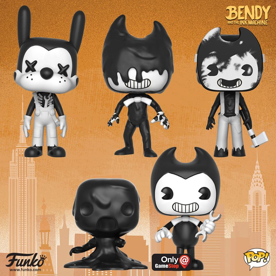 NYTF Bendy and the Ink Machine Pop!