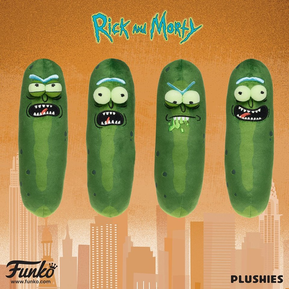 NYTF Pickle Rick Plush
