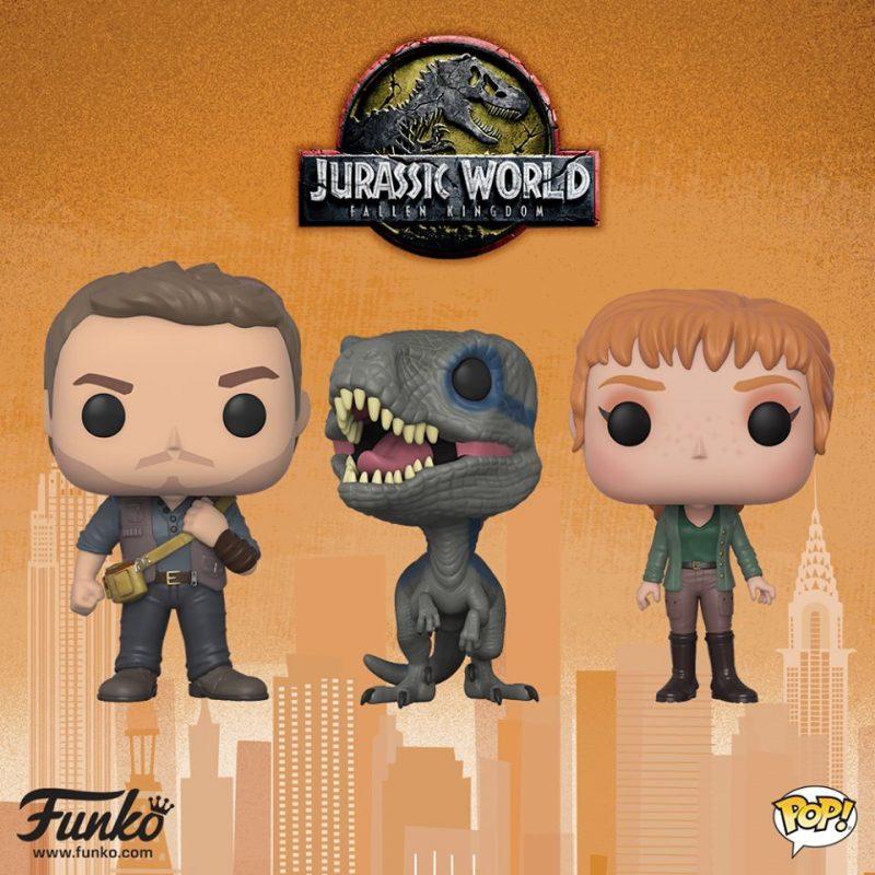 NYTF Jurassic World: Fallen Kingdom Pop!