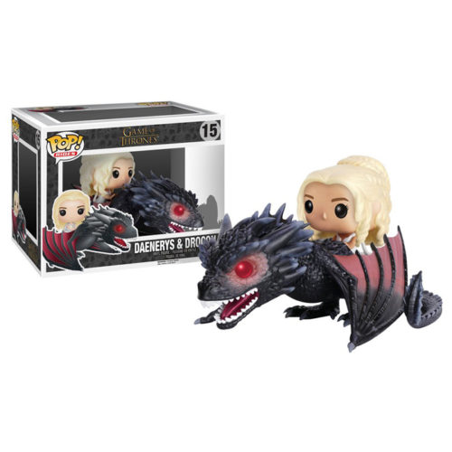 Daenerys and Drogon Funko Pop