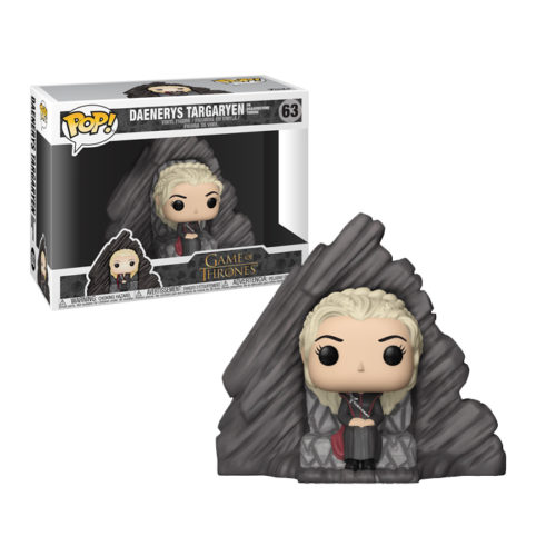 Daenerys on Dragonstone Throne Funko Pop