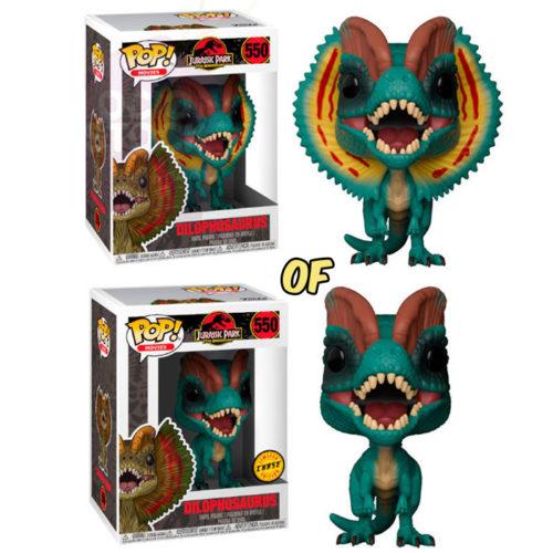 Dilophosaurus Funko Pop