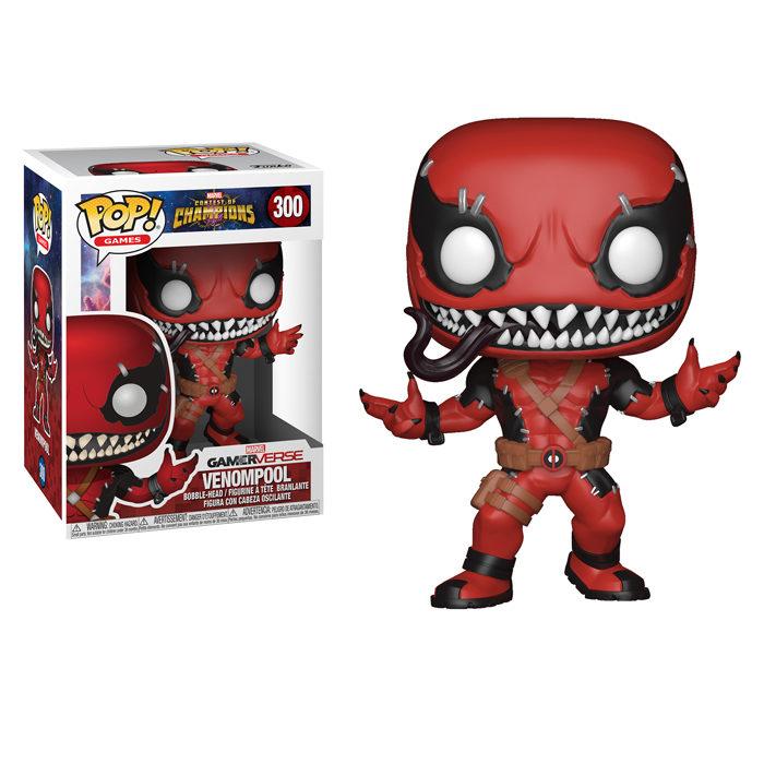 Venompool Funko Pop