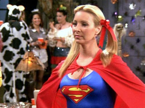 superhero Phoebe