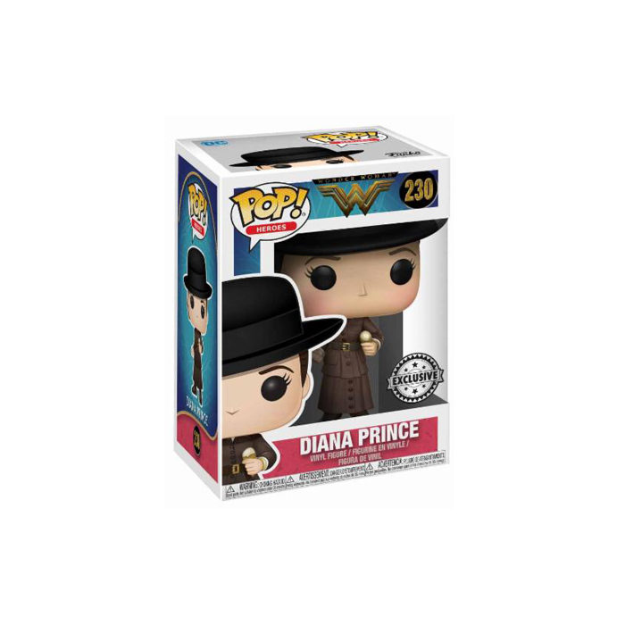 Diana Prince with Ice Cream Funko Pop