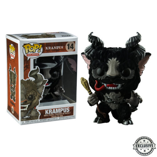 Krampus Flocked Funko Pop
