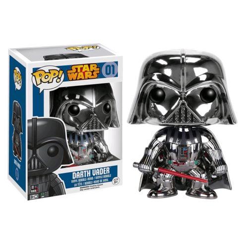 Darth Vader Chrome Funko Pop