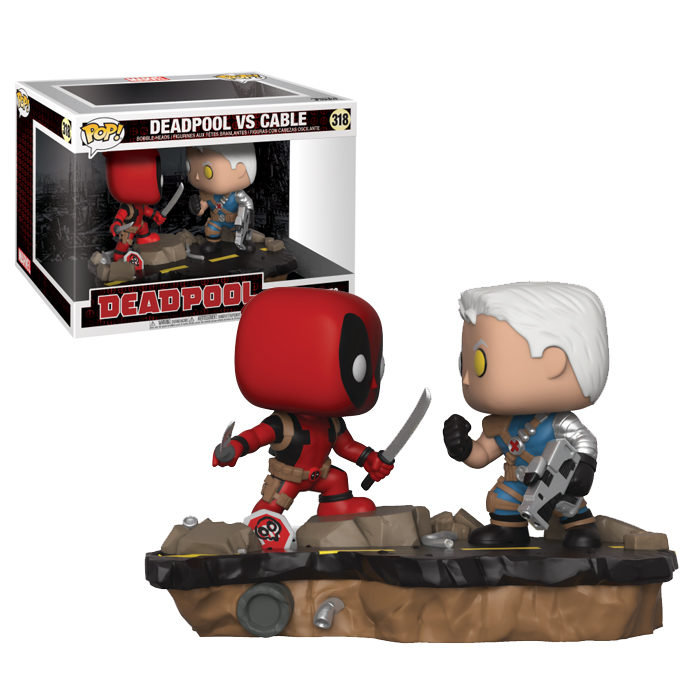 Deadpool vs Cable Movie Moment Funko Pop