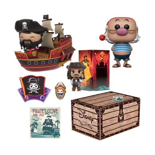 Pirates Cove Disney Treasure Box