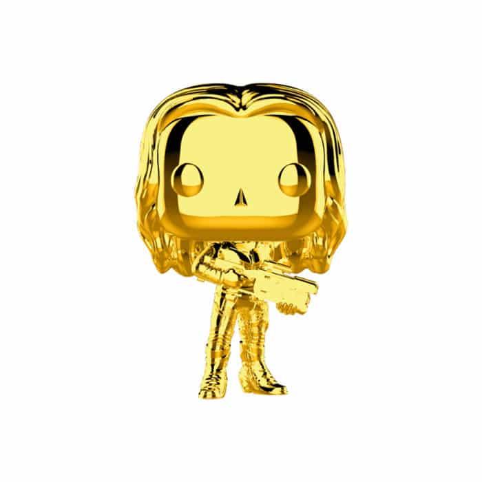 Gamora Gold Chrome Funko Pop