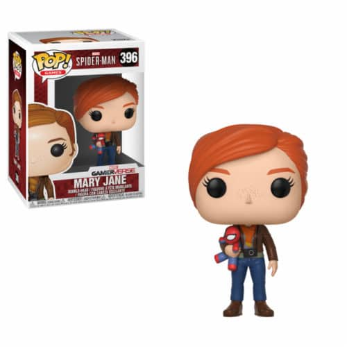 Mary Jane with Plush Funko Pop
