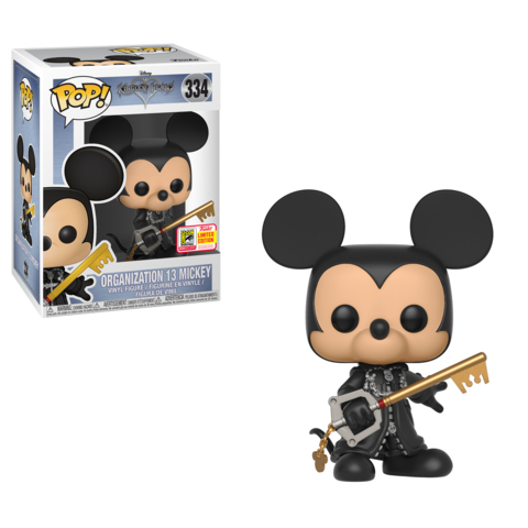 Unhooded Organization 13 Mickey SDCC Funko Pop