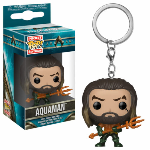 Aquaman Arthur Curry Pocket Pop Keychain
