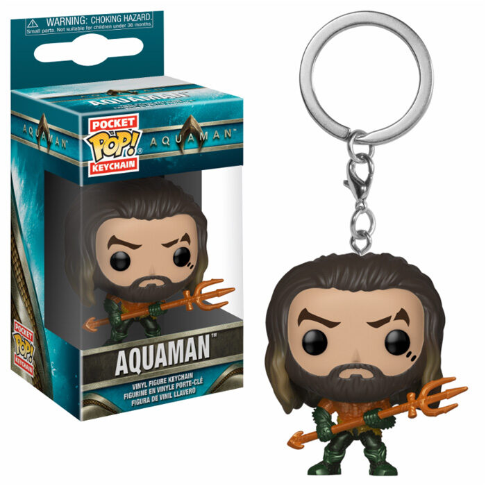 Aquaman Arthur Curry Pocket Pop Keychain