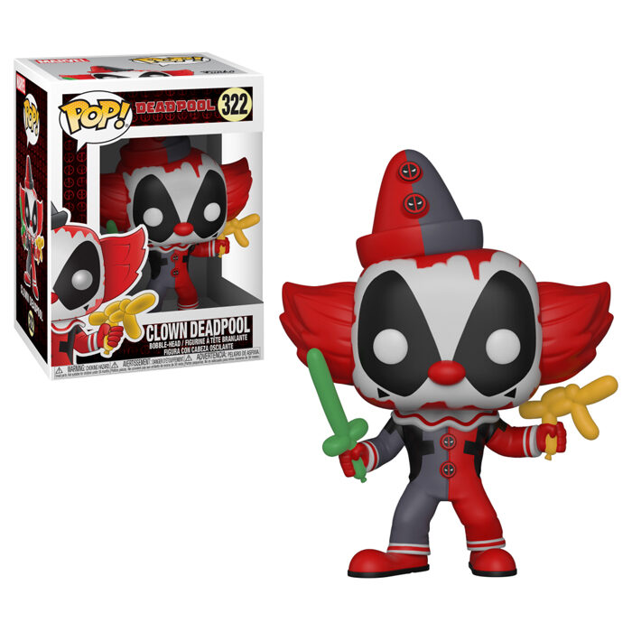 Clown Deadpool Funko Pop