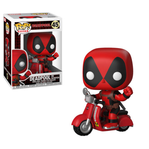 Deadpool on Scooter Funko Pop