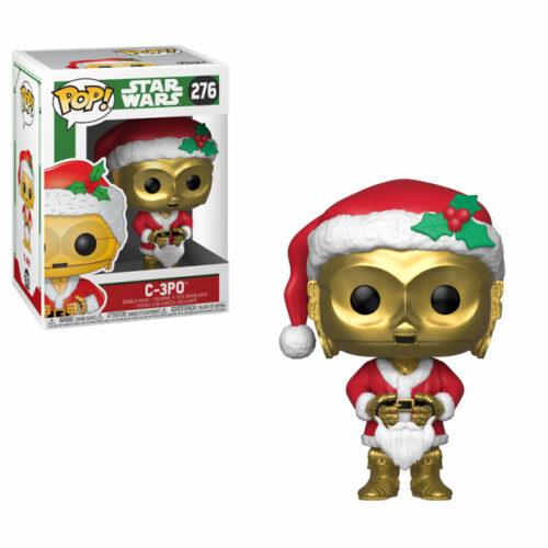 C-3PO as Santa Funko Pop