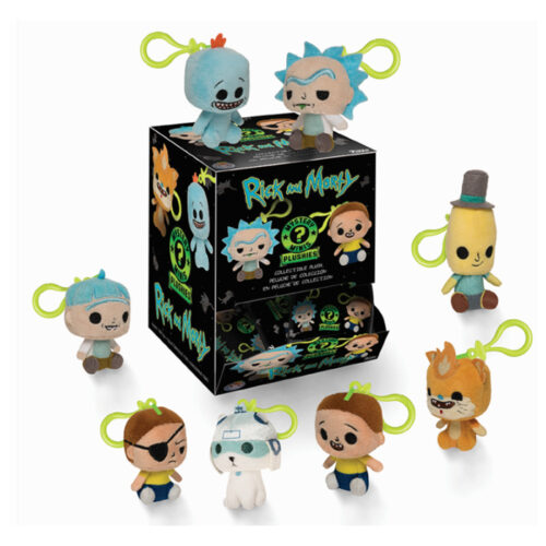 Rick and Morty Mystery Mini Plush