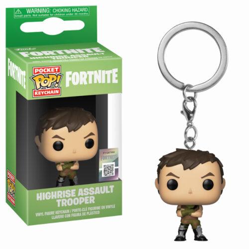 Highrise Assault Trooper Keychain