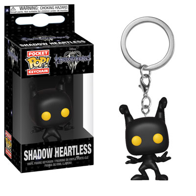 Shadow Heartless Kingdom Hearts III Funko Pocket Pop Keychain