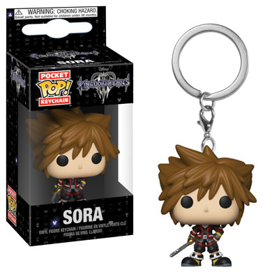 Sora Kingdom Hearts III Pocket Pop! Keychain Funko