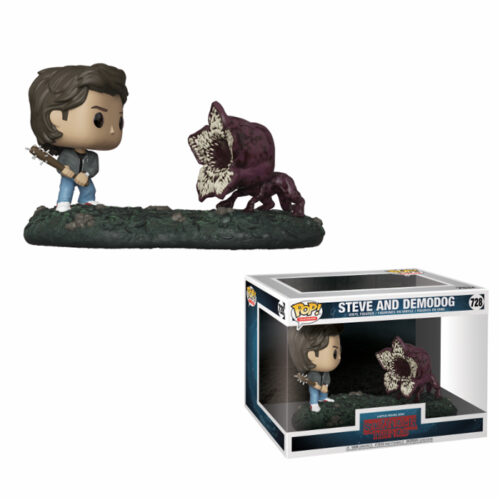 Steve and Demodog Funko Pop Movie Moment