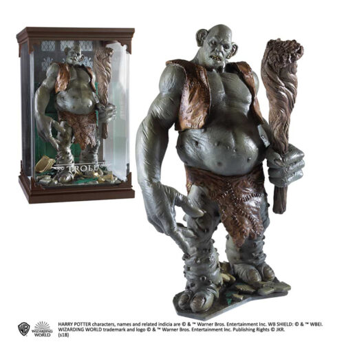 Troll Magical Creatures The Noble Collection
