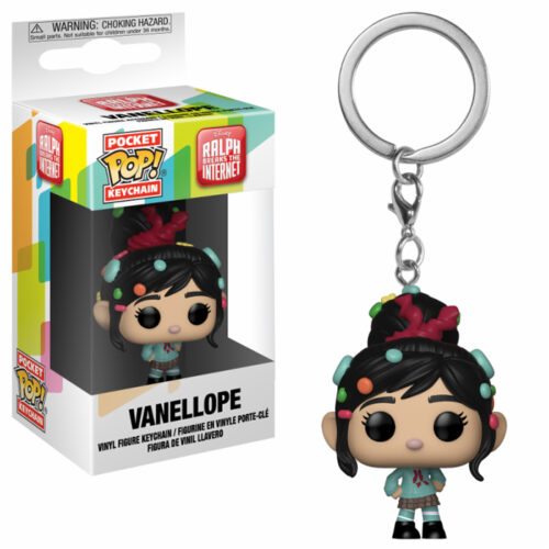 Vanellope Pocket Pop Keychain