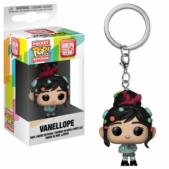Vanellope Pocket Pop Keychain