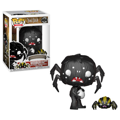 Webber and Spider Funko POp