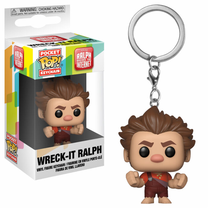 Wreck-It Ralph Pocket Pop Keychain